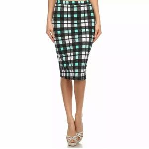MOA collection pencil skirt